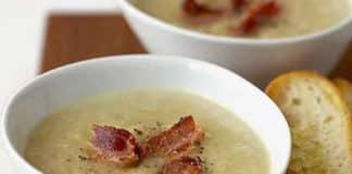 Soupe de pommes de terre aux lardons fumés au thermomix
