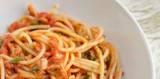 Spaghettis thon au cookeo