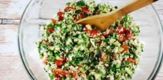 Taboulé de quinoa au thermomix