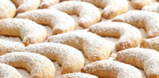 Vanille Kipferl - petits sablés à la vanille au thermomix