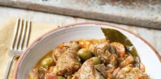 Veau aux olives au cookeo