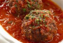 Boulettes de boeuf à la sauce tomate au thermomix
