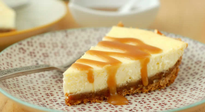 Cheesecake caramel et beurre au cookeo
