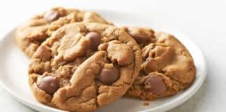 Cookies au beurre de cacahuètes et chocolat au thermomix