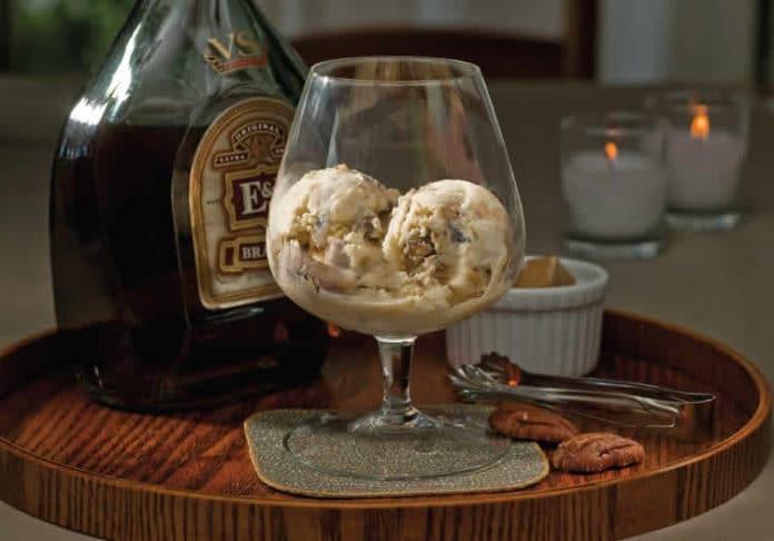 Crème glacée cognac au thermomix