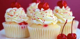 Cupcakes aux cerises et mascarpone au thermomix