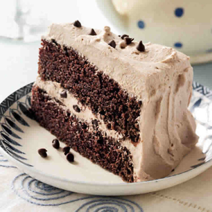 Gâteau chocolat à la crème