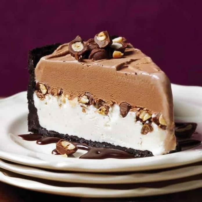 Gâteau glacé au chocolat et vanille au thermomix