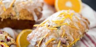 Gâteau orange canneberges