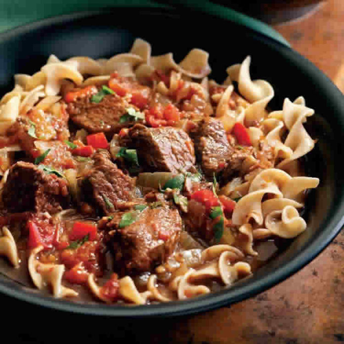 Goulash au cookeo