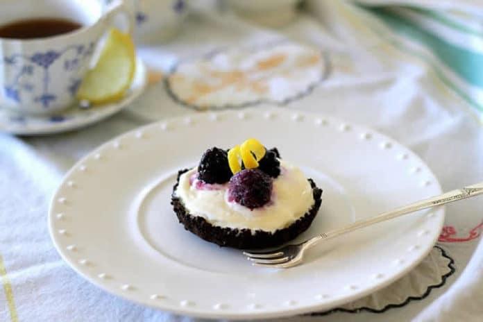 Mini tarte au chocolat et crème glacée au thermomix