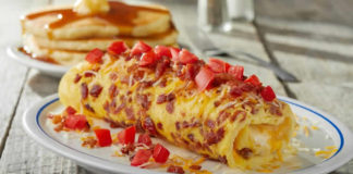 Omelette au lardons cookeo