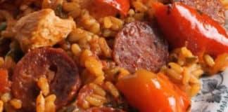 Paella poulet chorizo au cookeo