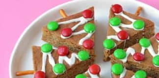 Sapins de noël biscuits au thermomix