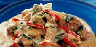 Sauté de porc au carottes et curry au thermomix