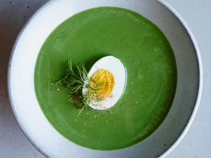 Soupe épinards au thermomix