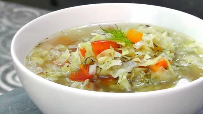 Soupe au choux au cookeo