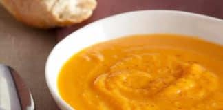 Soupe butternut et pomme de terre au thermomix