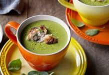 Soupe de brocolis et épinards au cookeo
