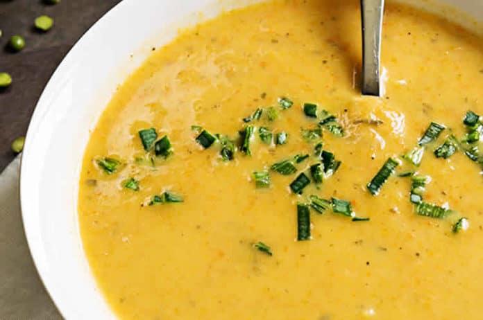Soupe de poireaux et carottes au thermomix