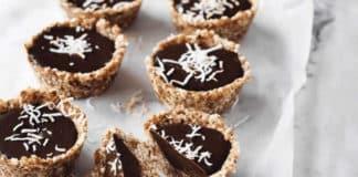 Tartelette dessert chocolat noir au thermomix