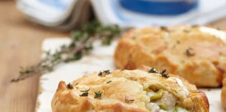 Tartelettes aux poireau et champignons au thermomix