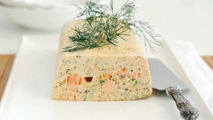 Terrine de crevette et saumon au thermomix