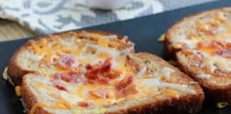 Toast au jambon et fromage