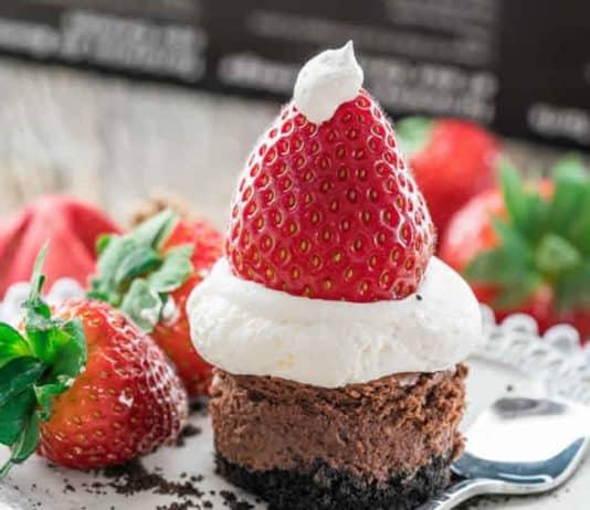 Cheesecake oreo crème et fraise