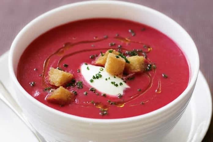 soupe betterave au thermomix