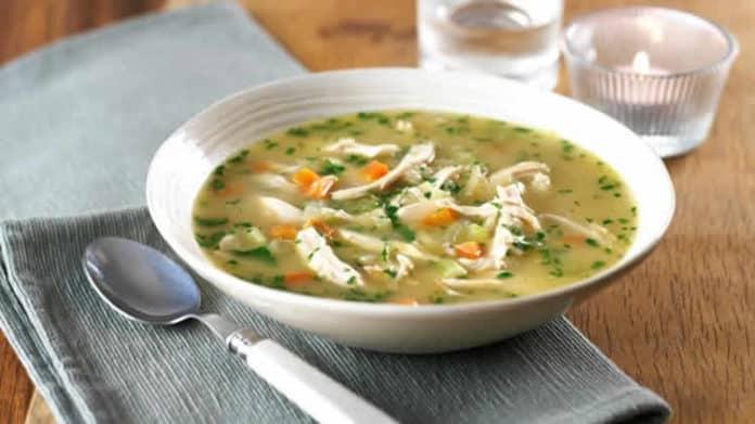 soupe de poulet et carottes au thermomix
