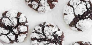 Biscuits brownies croquants
