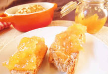 Confiture orange et banane au thermomix