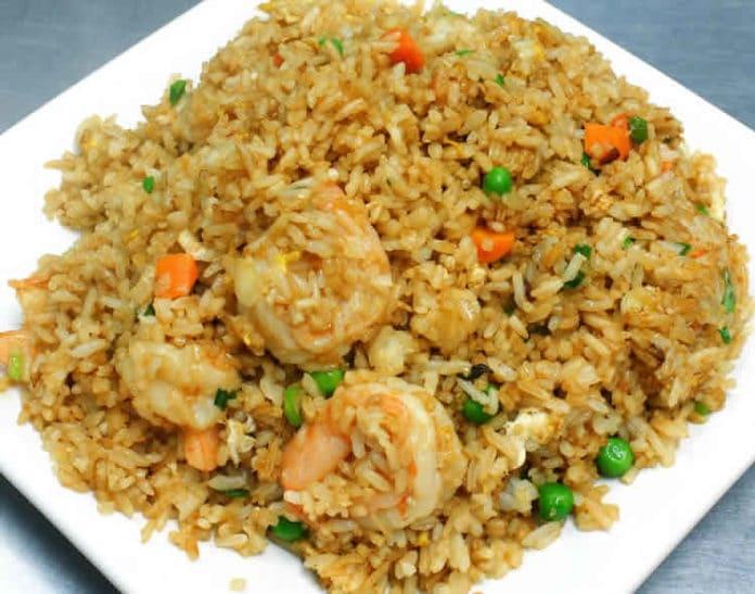 Crevettes au riz et pois au cookeo