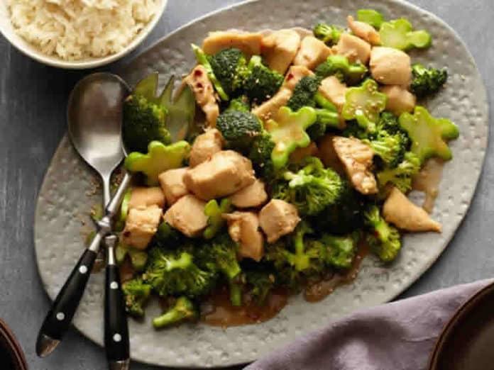 Emincé de poulet et brocolis au cookeo