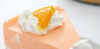 Gâteau au fromage à la crème et orange
