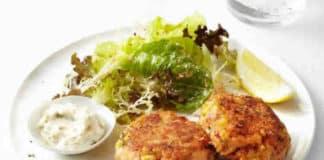 Galette saumon et sauce tartare