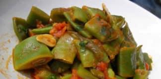 Haricots plats à la tomate au cookeo