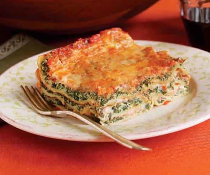 Lasagnes saumon et épinard