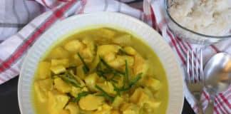 Poulet au curry et ananas au thermomix