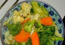 Salade brocoli chou-fleur au thermomix