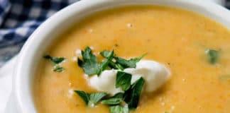 Soupe de légumes hiver au thermomix