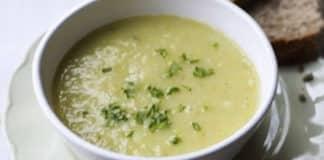 Soupe poireaux pommes de terre au cookeo