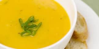Soupe potiron poireau au thermomix