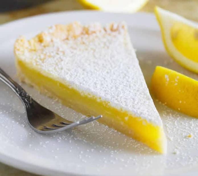 فطيرة الليمون سهلة