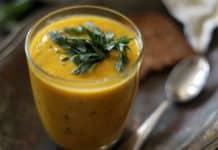 Velouté de courgettes et carottes au thermomix