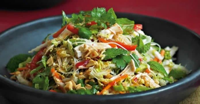 salade vietnamienne poulet au thermomix
