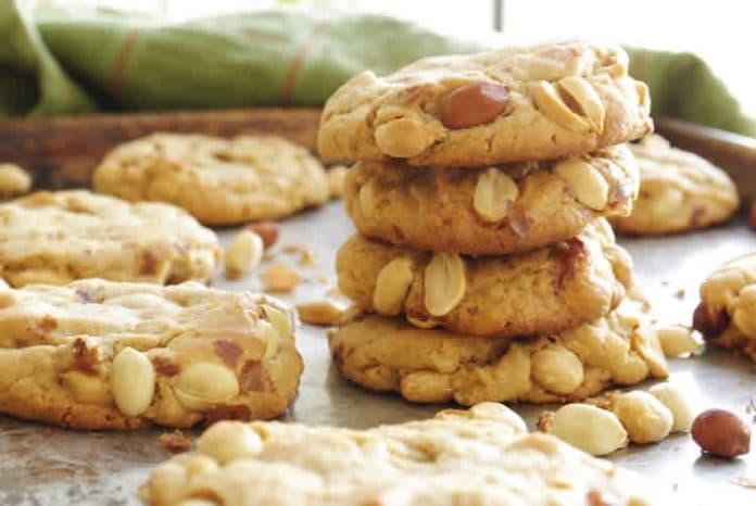 Biscuits au beurre de cacahuètes au thermomix