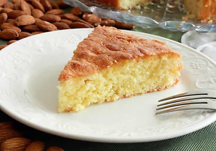 Cake moelleux aux amandes au thermomix