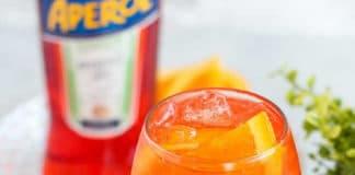 Cocktail Aperol spritz au thermomix